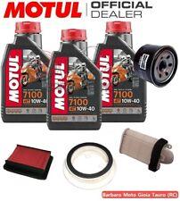 KIT TAGLIANDO YAMAHA T-MAX 500 2008 2009 2010 2011 OLIO MOTUL 7100 FILTRI TMAX