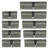 Profilzylinder 30/30 bis 50/50 60 - 100 mm +5 Schlüssel N+G Tür Zylinder Schloss