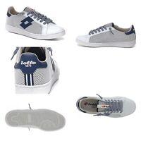 Sneakers scarpe uomo LOTTO LEGGENDA Autograph Net White/DressBlu  P/E19List.120€