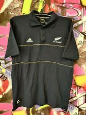 New Zealand All Blacks Rugby Union Shirt Jersey Adidas 2007 Formotion Mens Sz M