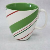 Starbucks Holiday 2007 Candy Cane Striped Coffee Mug