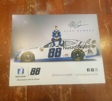 Alex Bowman Autographed NASCAR Hero Post Card Photo