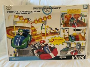 Knex Mariokart Wii Bowser's Castle Ultimate Building #38437 658 Piece Open Box