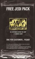 11 card JEDI PACK [factory sealed] star wars ccg swccg set