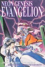 Neon Genesis Evangelion 3-in-1 Edition, Vol. 1 by Yoshiyuki Sadamoto (2012,...