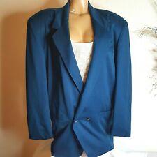 Thach Le Detail Womens Aqua Green Blazer Size M business/ Dress Suit career wear