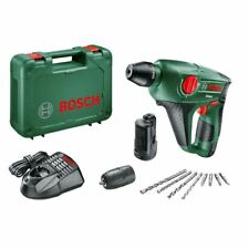 Bosch 12 V Akku-Bohrhammer Uneo mit 2 x Akku 2,5Ah Akku+ Zubehör