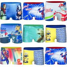 Boys Kids Children Character Swimming Swim Trunk Shorts Boxer age 2-10 years