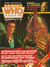 RARE Back Issue - DOCTOR WHO MAGAZINE #93 - Ian Marter - Zygon (plus poster)