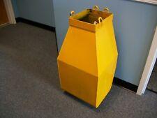 "Hoist Chain Bucket 29"" x 15 3/4"" x 13 3/4"" -Used"