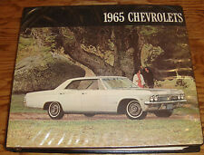 1965 Chevrolet Dealer Showroom Presentation Book Album Features Color Trim 65