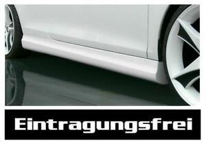 VW Golf 4 Seitenschweller GT Schweller Spoiler Side Skirts Schwellerleisten