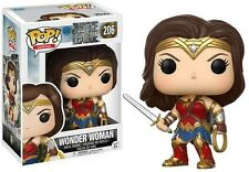 Dc - Justice League - Wonder Woman Funko Pop! Movies: Toy