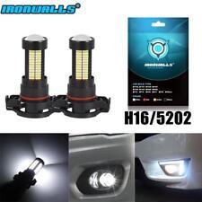 5202 H16 LED Fog Lamp Light for GMC Sierra 1500 2008-2015 6000K White Light 100W