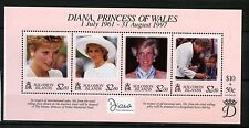 Solomon Islands 1998 SG#MS908 Diana Princess Of Wales MNH M/S #A58942
