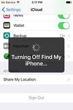 Servizio di rimozione del blocco icloud-iPhone iPad iPod ID di attivazione sblocco OFF.