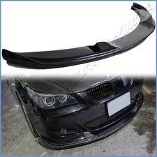 Carbon Fiber HM Type Front Lower Add Lip For BMW 06-10 E60 Sedan M5 Bumper Only