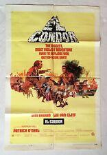 1970 EL CONDOR Original U.S. One Sheet Movie Poster BLAXPLOITATION Sex Girlie