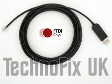 5m USB remote control PC cable for Celestron Nexstar telescopes - FTDI chip