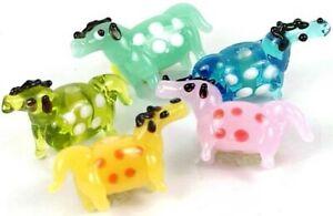 Lampwork Handmade Glass Colorful Horse Beads II (5)