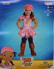Disney Junior Captain Jake Izzy Costume Size 2T NWT