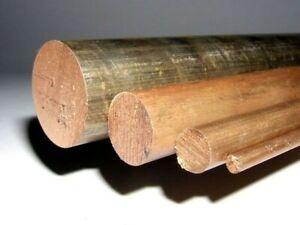 Phosphor Bronze Round Bar/Rod - PB104  - CuSn8 - Various Lengths