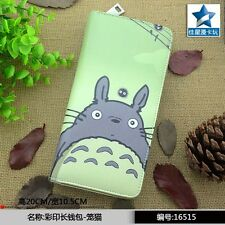 2016 Hot Selling My Neighbor Totoro Colorful Long PU Wallet/Cell Phone Purse