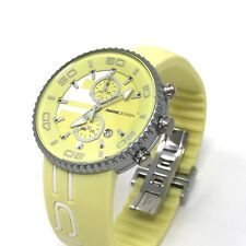 MOMODESIGN Jet Chronograph Watch Lime Green 43 Mm Aluminium Case