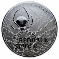 2020 Australia Redback Spider 1 oz Silver $1 Coin GEM BU SKU59369