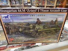 Bronco 1/35 scale  Hungarian 44.M Zrinyi 75mm assault Gun