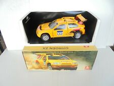 Solido 8503 Citroen ZX Ralley Raid 1;18 yellow mint limited edition NM BOX