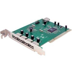 Startech 7 Port PCI USB Card Adapter