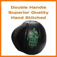 10 KG MEDICINE BALL DUAL HANDLE CORE EXERCISE WORKOUT CROSSFIT WEIGHTLIFTING GYM