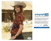 """Lake Bell """"Bless This Mess"""" AUTOGRAPH Signed 8x10 Photo B ACOA"""