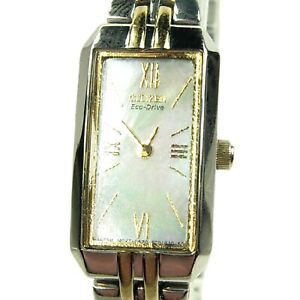 CITIZEN ECO-DRIVE women's watch Model G620-S061482 with M.O.P Dial (SEE VIDEO)