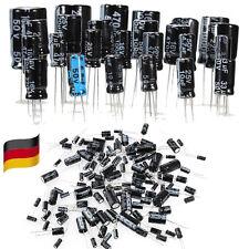 1uF~2200uF 25 Werten Elkos Elektrolyt Kondensatoren Capacitors Sortiment Kit DE
