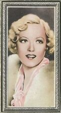 Marion Davies 1936 Godfrey Phillips Stars of the Screen Tobacco Card #11