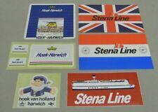 6x sticker - aufkleber : Hoek-Harwich Stena Line  80/90's (09766)
