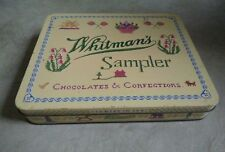THE WHITMAN'S SAMPLER CHOCOLATES & CONFECTIONS COLLECTORS TIN