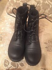 Madden Girl Boot - Women's Size 4 Black Zipper Closure New