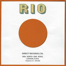 RIO REPRODUCTION RECORD COMPANY SLEEVES - (pack of 10)