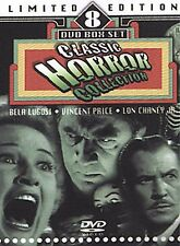 Classic Horror Collection - 8 Pack (DVD, 2004, 8-Disc Set; Limited Edition)