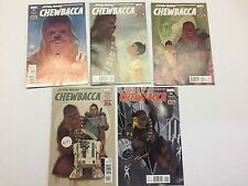 STAR WARS, CHEWBACCA # 1-5, Marvel Comics