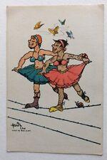CPSM. BAR LE DUC. 55 - Illustrateur HARDY. Guerre 1940. Camp. Danse. Humour.Tutu