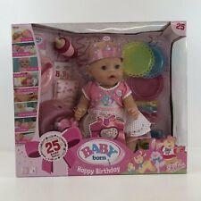 Zapf Creation Baby Born Interactive 824054 Happy Birthday Doll