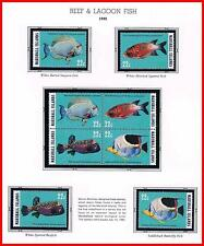 """MARSHALL IS. 1985 REEF  FISH mnh MARINE LIFE (DO YOU UNDERSTAND """"MAKE OFFER""""???)"""