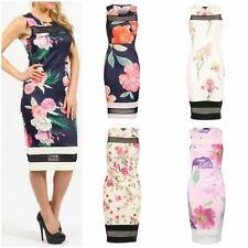 Unbranded Floral Party Sleeveless Dresses for Women