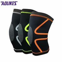 Gym Weight Lifting Knee Wraps Bandage Straps Guard Compression Knee Sleeve Brace
