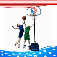 Adjustable Basketball Hoop Goal Stand Backboard Kids Portable Indoor Outdoor