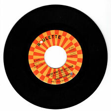 DERRIK ROBERTS There Won't Be Any Snow VG(+) 45 RPM REISSUE